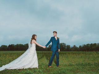 The wedding of Hannah and Matt