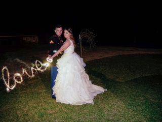 The wedding of C.J and Heather 1