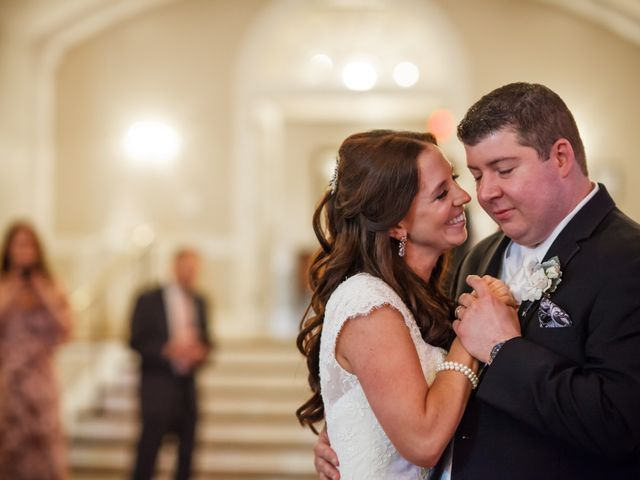 The wedding of Jillian and Mike