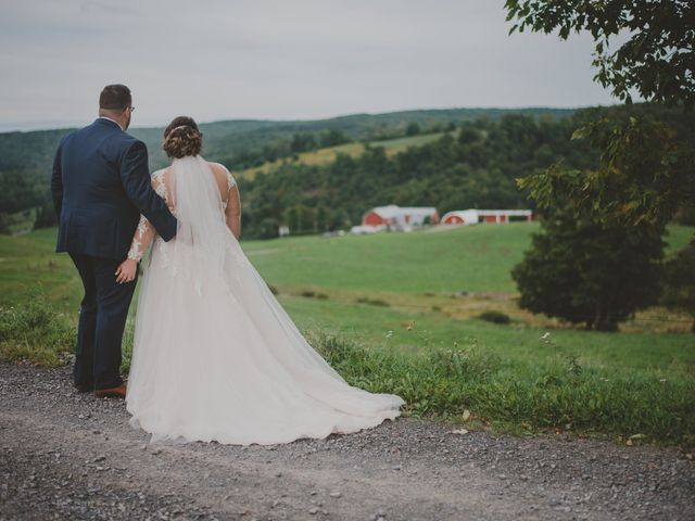 Josh McCarthy and Katee McCarthy's Wedding in Brookfield, New York 1