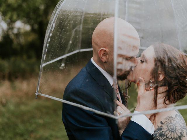 The wedding of Kiersten and Forrest