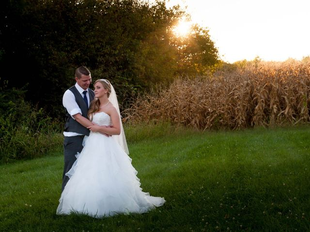 The wedding of Cassie and Lee
