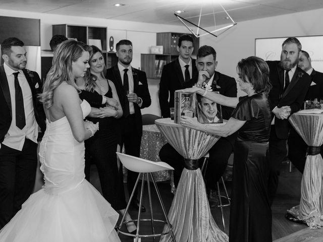 Ben and Genna's Wedding in Detroit, Michigan 7