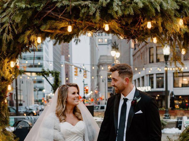 Ben and Genna's Wedding in Detroit, Michigan 50