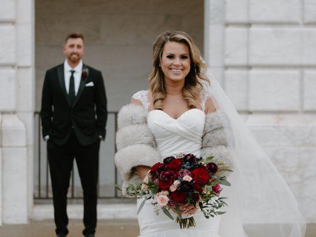 Ben and Genna's Wedding in Detroit, Michigan 55