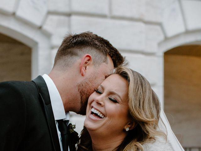 Ben and Genna's Wedding in Detroit, Michigan 57