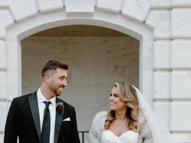Ben and Genna's Wedding in Detroit, Michigan 58