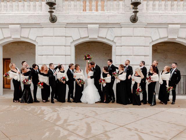 Ben and Genna's Wedding in Detroit, Michigan 71