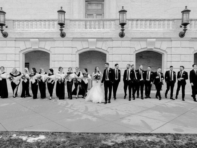 Ben and Genna's Wedding in Detroit, Michigan 72