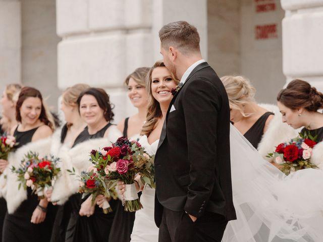 Ben and Genna's Wedding in Detroit, Michigan 73