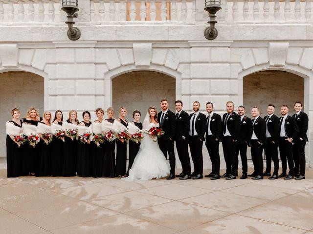 Ben and Genna's Wedding in Detroit, Michigan 74