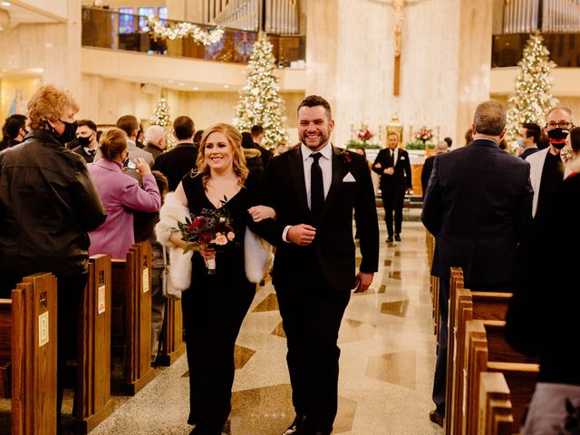 Ben and Genna's Wedding in Detroit, Michigan 77