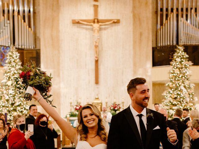 Ben and Genna's Wedding in Detroit, Michigan 80