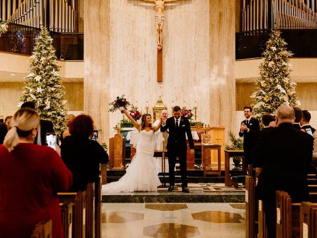Ben and Genna's Wedding in Detroit, Michigan 81
