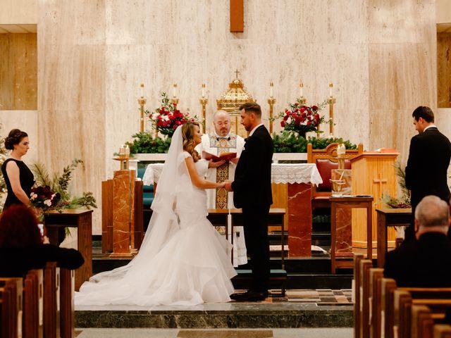 Ben and Genna's Wedding in Detroit, Michigan 93