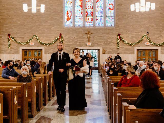 Ben and Genna's Wedding in Detroit, Michigan 110