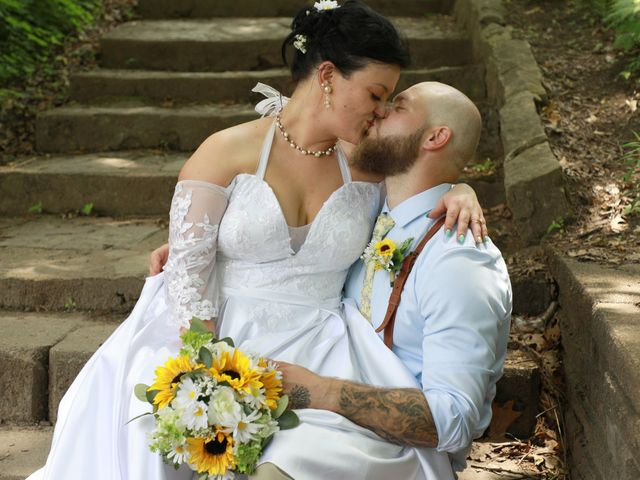 The wedding of Katlin and Randy