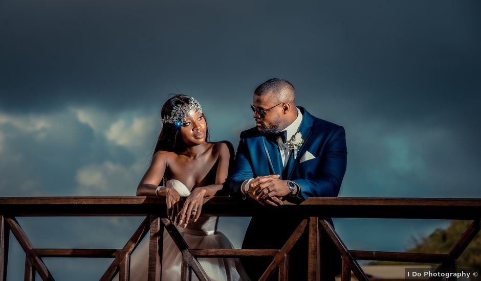 Noah and Caroline's Wedding in Gros Islet, St. Lucia