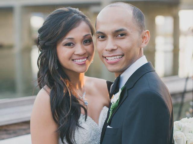The wedding of Daryl and Rhea