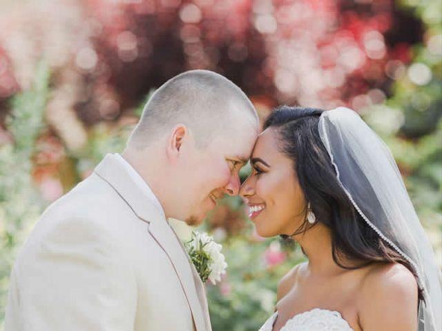 The wedding of Mark and Teannah