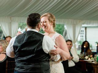 The wedding of Kayla Donofrio and CJ Donofrio 1
