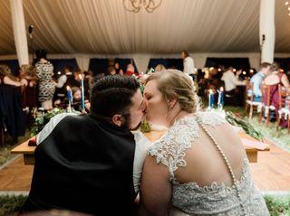 The wedding of Kayla Donofrio and CJ Donofrio 2