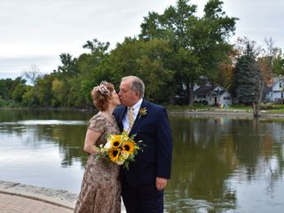 The wedding of Gary and Laurel