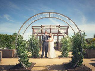 The wedding of Ashleigh and Jack