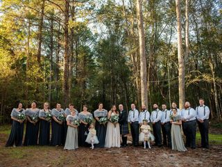 The wedding of Lyndsey and Cotey 1
