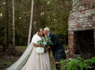 The wedding of Lyndsey and Cotey