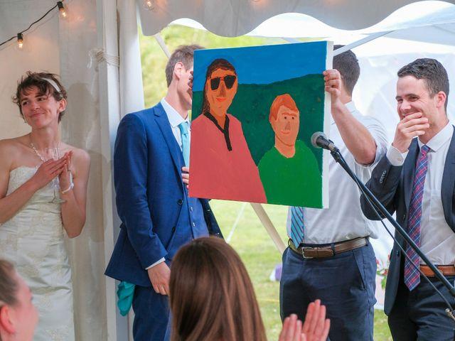 Gavin and Chloe's Wedding in Franconia, New Hampshire 40