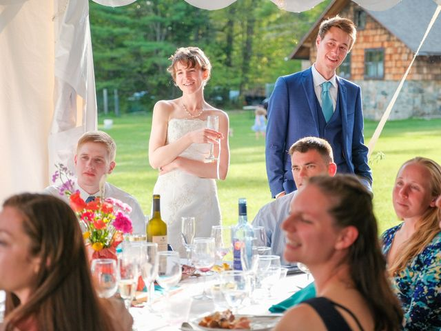 Gavin and Chloe's Wedding in Franconia, New Hampshire 43