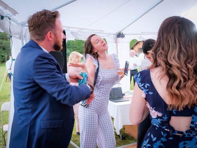 Gavin and Chloe's Wedding in Franconia, New Hampshire 50