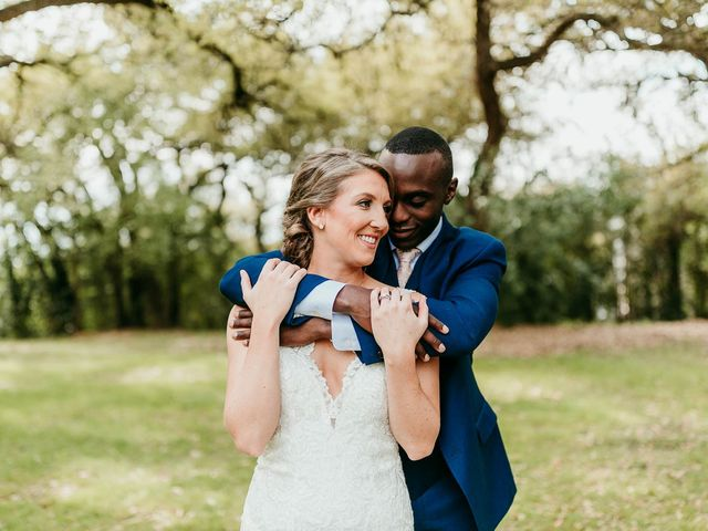 The wedding of Femi and Christina