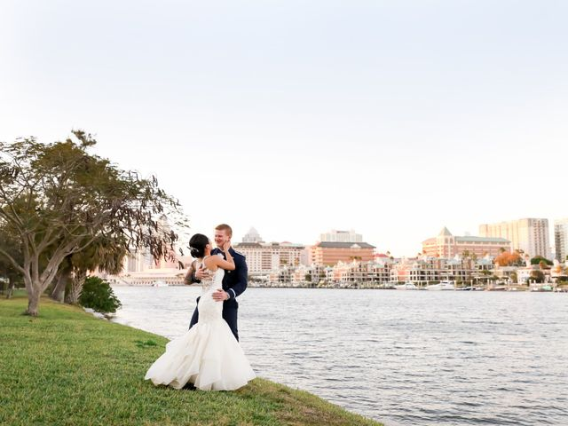Andrew and TakYee's Wedding in Tampa, Florida 9