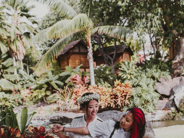 Jen and Carmen's Wedding in Kamuela, Hawaii 6