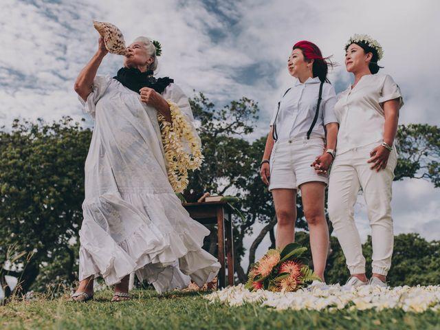 Jen and Carmen's Wedding in Kamuela, Hawaii 9