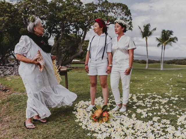Jen and Carmen's Wedding in Kamuela, Hawaii 11