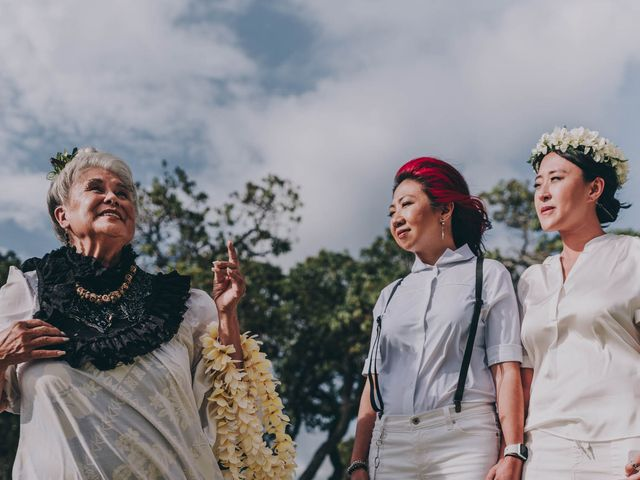 Jen and Carmen's Wedding in Kamuela, Hawaii 12
