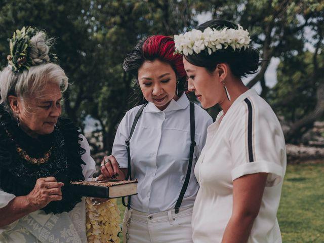 Jen and Carmen's Wedding in Kamuela, Hawaii 13