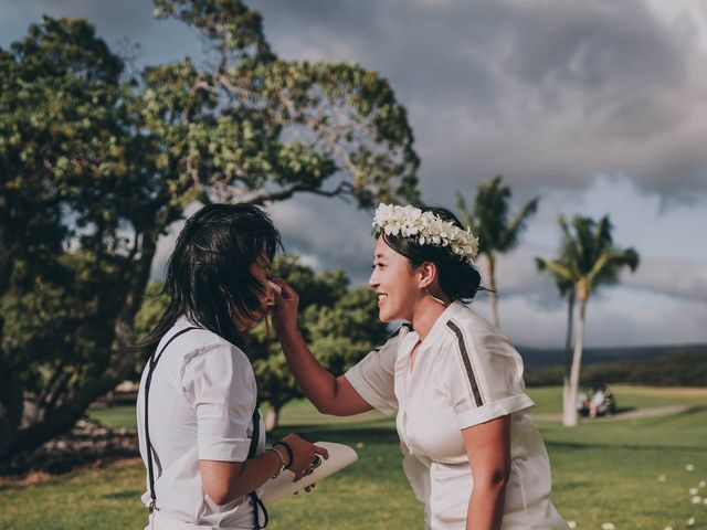 Jen and Carmen's Wedding in Kamuela, Hawaii 14