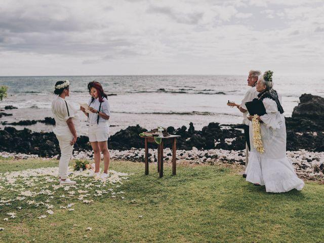 Jen and Carmen's Wedding in Kamuela, Hawaii 1