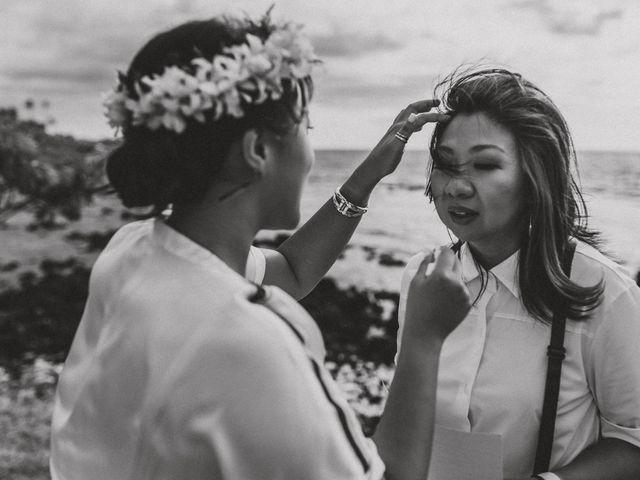 Jen and Carmen's Wedding in Kamuela, Hawaii 16