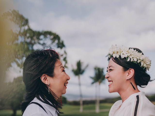 Jen and Carmen's Wedding in Kamuela, Hawaii 18
