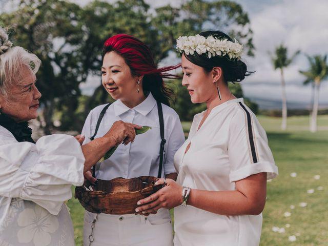 Jen and Carmen's Wedding in Kamuela, Hawaii 22