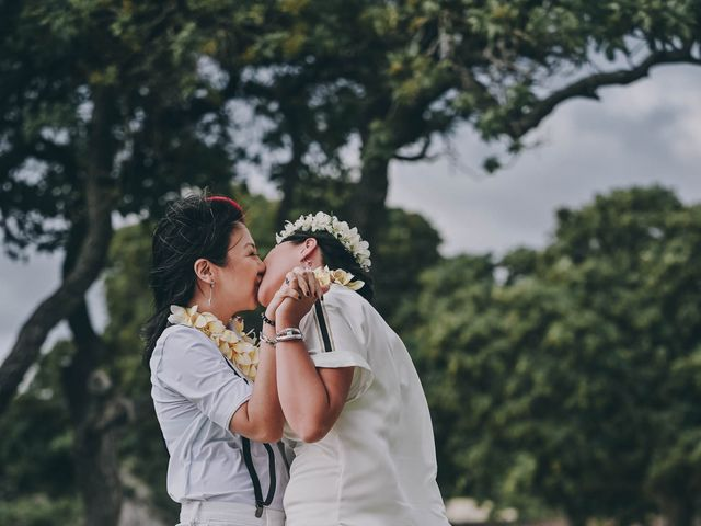 Jen and Carmen's Wedding in Kamuela, Hawaii 26
