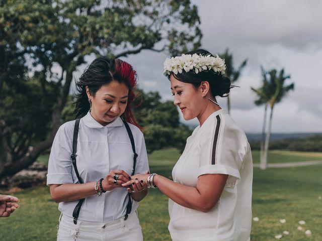 Jen and Carmen's Wedding in Kamuela, Hawaii 28
