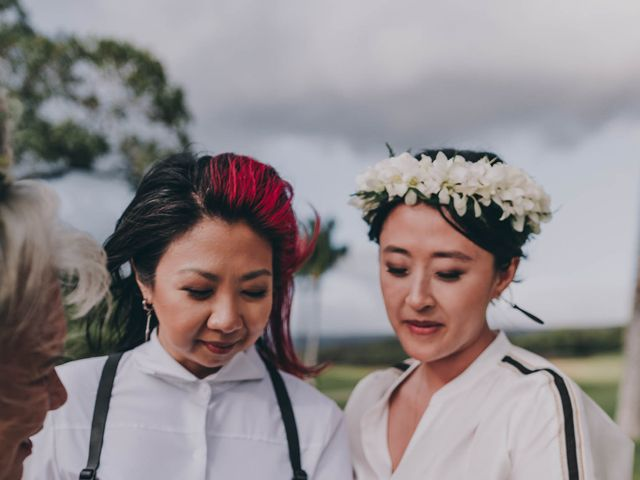 Jen and Carmen's Wedding in Kamuela, Hawaii 29