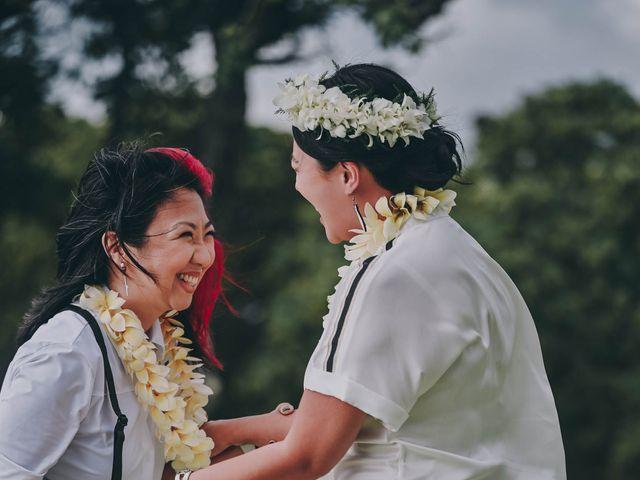 Jen and Carmen's Wedding in Kamuela, Hawaii 30