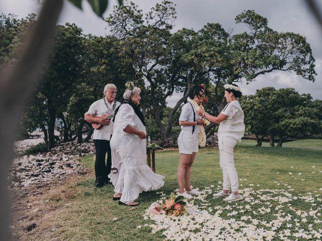 Jen and Carmen's Wedding in Kamuela, Hawaii 35
